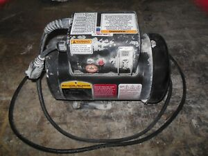1 1 2hp Baldor Single Phase Electric Motor 1 5hp 1725 Rpm 115 Volts Tefc