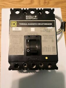 Square D 50a Thermal Magnetic 480v I line Circuit breaker 50a Series 2