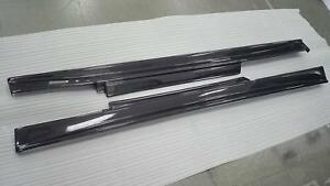 Side Skirt Board Body Kit For Nissan R35 Gtr Zelee Style Carbon Fiber One Right