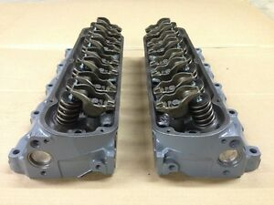87 93 Ford Mustang Ho Engine Cylinder Heads Factory Gt 302 Machined Rebuilt E7te