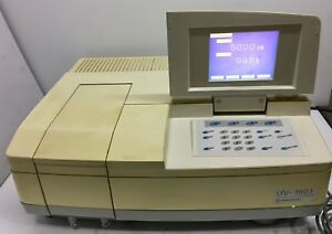 Shimadzu Uv 1601 Uv Visible Spectrophotometer Uv 1601 Ce