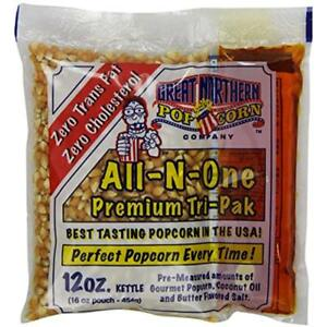 Great Unpopped Northern Popcorn 12 ounce Portion Packs pack Of 24