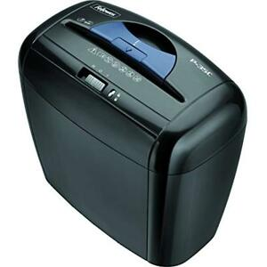 Fellowes Shredders Powershred P 35c 5 sheet Cross cut Paper And Credit Card With