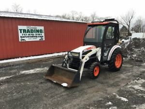2011 Bobcat Ct225 4x4 Hydro Compact Tractor W Loader Cab