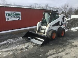 2010 Bobcat S300 Skid Steer Loader W Cab 2 Speed High Flow Coming Soon