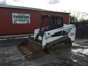 2015 Bobcat T550 Compact Track Skid Steer Loader W Only 900hrs Coming Soon