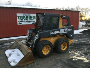 2010 John Deere 320d Skid Steer Loader W Cab Coming Soon
