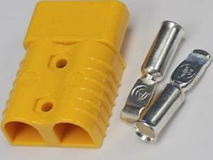 Anderson Style Sb175 Connector Kit Yellow 1 0 2 4 Awg 6328g1 Anderson Style