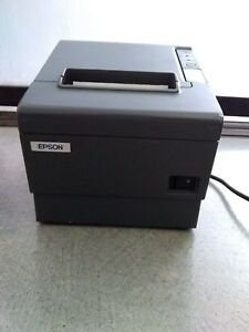Epson Tm t88iv Point Of Sale Thermal Printer Serial Port Interface M129h
