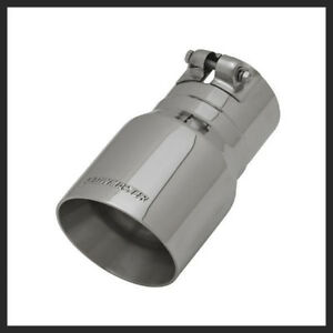 Flowmaster Polished Stainless Exhaust Tip 3 Inch In 4 In Outlet 15377