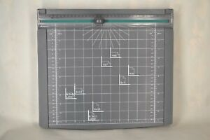 12 Inch High Precision Rotary Paper Trimmer Photo Paper Cutter W extra Blades