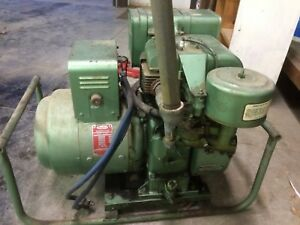 4000 Watt Dayton Gas Generator Model 3w015f 10hp Briggs And Stratton No Spark