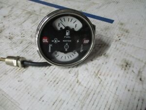 Aftermarket Case Ih Tractor Temperature Fuel Gauge 1546480c1