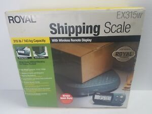 New Royal Ex315w Wireless Heavy duty Shipping Scale 315lbs Max Industrial