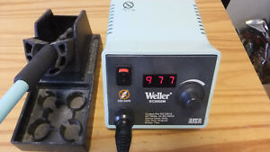 Weller Ec2002 m Soldering Station With Needle Point Iron base
