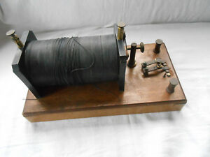 Physics Instrument Lab Equipment Antique Gadget W String Mallory Plascap Tool