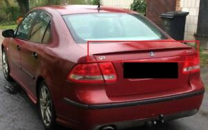 Saab 9 3 93 2002 2007 Aero Look Rear Boot Trunk Spoiler Lip New