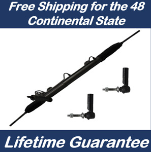 Power Steering Rack And Pinion For Voyager Town Country 2 New Outer Tie Rods