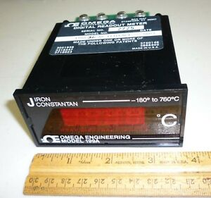 Omega 199a J Thermocouple Panel Meter 110 Vac New In Box
