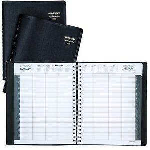 2020 At a glance 70 212 8 person Daily Appointment Book 8 1 2 X 10 7 8