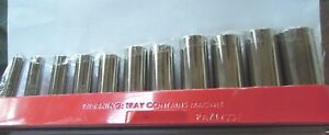 Snap on Pakty237 11 Pc 3 8 Drive 6 point Socket Set With Magnetic Tray