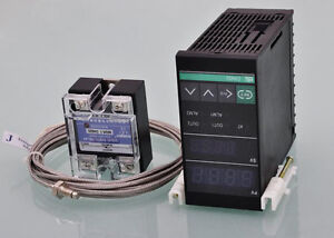 Gl Temperature Controller Switch Pid Table Ssr 25a Thermocouple J Type Of Sensor