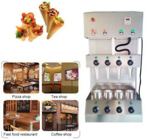 Ce Commercial Pizza Cone Forming Making Maker Machine With Rotational Pizza Oven