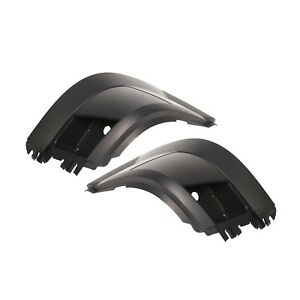 Left And Right Side Extension Corner Bumper End Cover Fit Volvo Vnl Truck 04 Up
