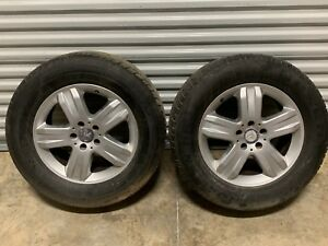 2005 Mercedes Benz Ml500 W163 Oem Set Of 17 Wheels Tires 5x112mm Et52 8 5x17