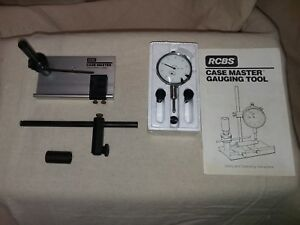 This RCBS Case Master Gauging Tool is used but in excellent condition
