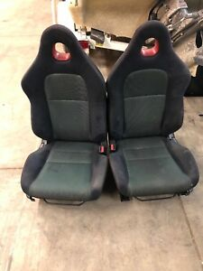 2004 Honda Civic Si Hatch Front rear Seats Cloth