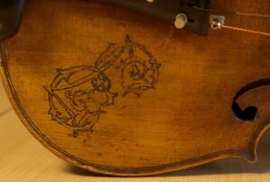 Very Old Labelled Vintage Violin Antonio Ruggieri 1723 Fiddle Geige