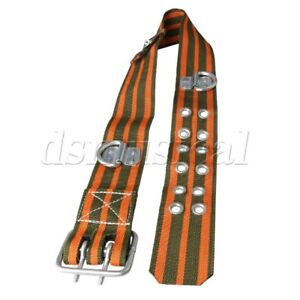 Safety Belt Body Belt With Side D ring Fall Safety Harness 1 20m Length
