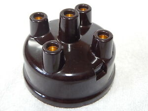 Willys Mb Ford Gpw Brown Distributor Cap Correct G503