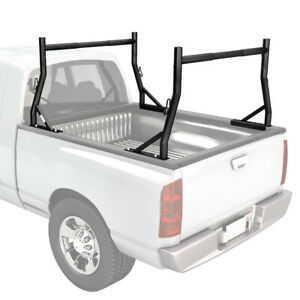 Universal Adjustable Truck Rack W Clamps For Pickups Utility Lumber Contractor