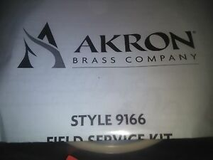 Akron Style 9166 Field Service Kit For 8840 4 Swing out Valve Style