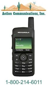 New Motorola Sl7550 Uhf 403 470 Mhz 2 Watt 1000 Channel Two Way Radio