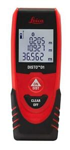Laser Distance Measure Leica Disto D1 130ft With Bluetooth 4 0 Accuracy Standard