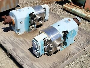 G H Ghp 3040 Rhb Positive Displacement Pump 4 Inlet And Outlet
