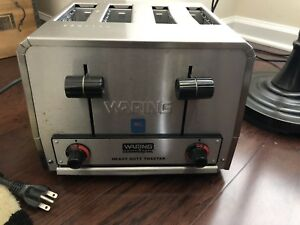 Waring heavy Duty Commercial Toaster model Wct815