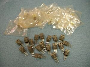 Rca Sk3054 Transistor With Mounting Kit Lot Of 19