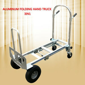 Trucks Lightweight 350kg Capacity Convertible Hand Truck And Dolly Easy To Use