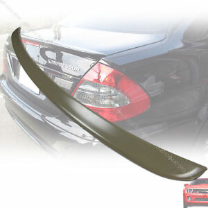 Ship From La Benz Mercedes W211 A Style Abs Trunk Spoiler Rear Wing