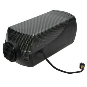 12v 5kw Diesel Air Parking Heater Air Heating Lcd Switch With Silencer