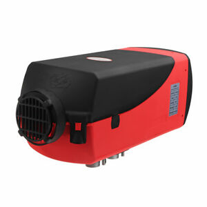 12v 8kw Diesel Parking Air Heater With 15l Fuel Tank Silencer Remote Control