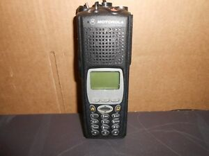 Motorola Xts5000 Model Iii H18uch9pw7an Uhf P25 700 800 Mhz Radio Missing Knobs