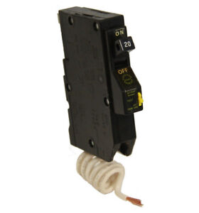 Eaton Classified Product Chq120af Arc Fault Circuit Breaker 1 Pole 20a 120v New