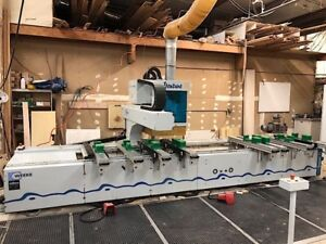 Weeke venture 3 l Cnc Router Pod And Rail