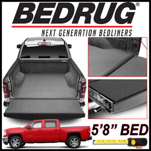 Bedrug Impact 2007 2018 Chevy Silverado 1500 Bed Protection Liner Mat Fits 5 8
