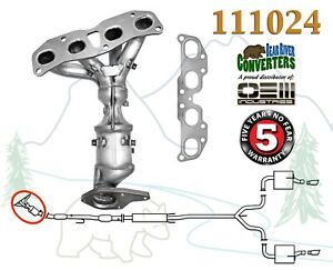 111024 Direct Fit Catalytic Converter Manifold Po420 For Nissan Altima Rogue